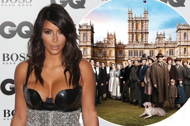 kim-kardashian-downton-abbey
