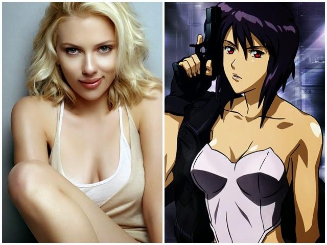 Ghost in the Shell  Scarlett Johansson negocia papel no filme