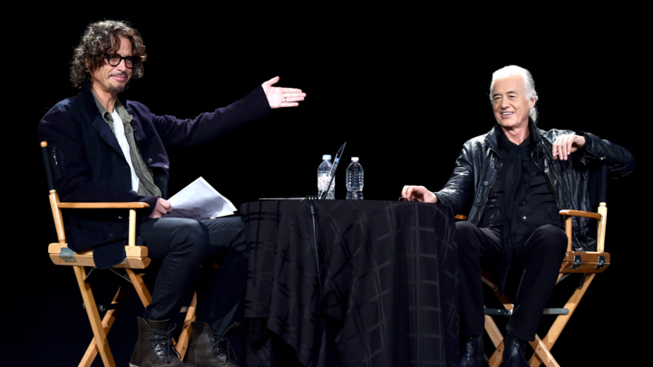 An Evening With Jimmy Page And Chris Cornell In Conversation - Inside