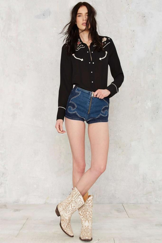 shorts-western